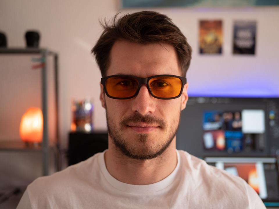 Blaulichtfilterbrille Prisma