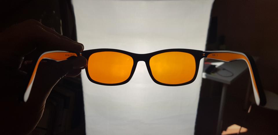 WIZION Blaulichtfilter Brille 2