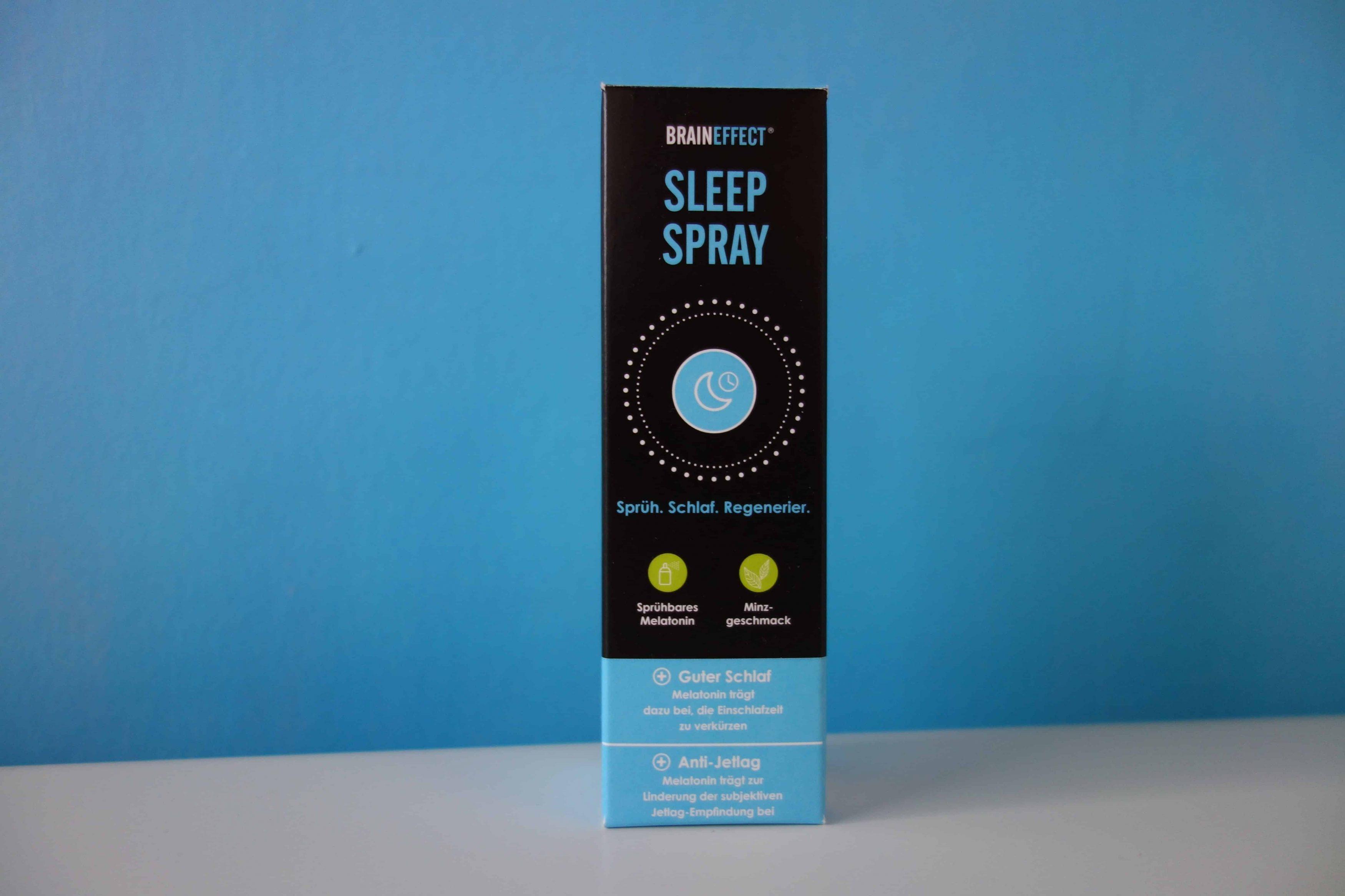 braineffect sllep spray verpackung