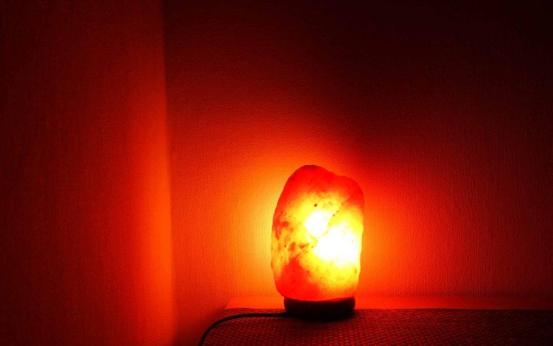 Salzkristalllampe